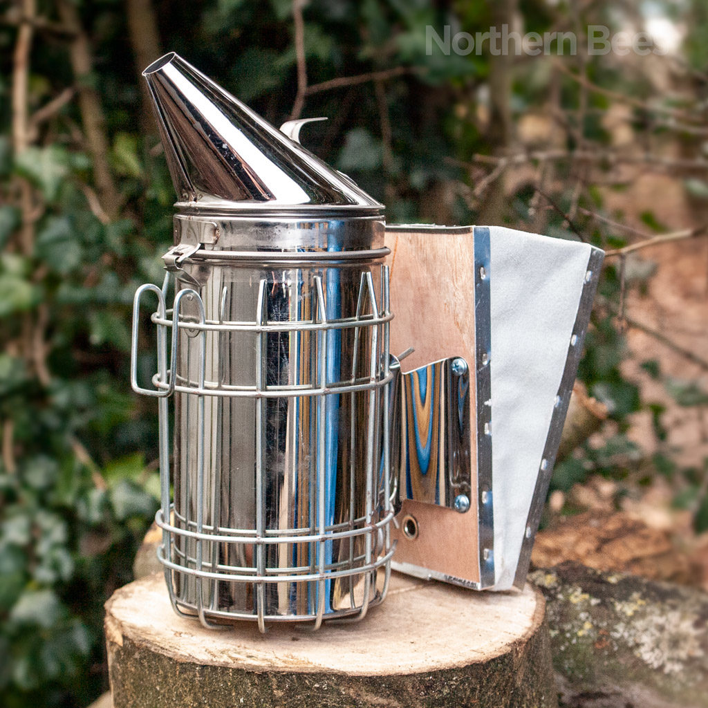 Empire stainless steel smoker for beekeeping